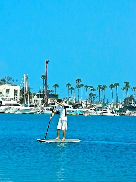 Paddle Boarding Newport Beach CA - http://www.newportbeachsurfinglessons.com/Paddle_Board_Newport_Beach.html