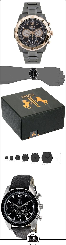 Jivago Reloj de cuarzo acero inoxidable Casual 'atemporal' para hombre (modelo: jv4511)  ✿ Relojes para hombre - (Lujo) ✿