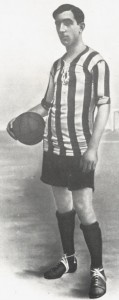 "Athletic de Bilbao , Rafael Moreno Aranzadi, best known as ""Pichichi""."