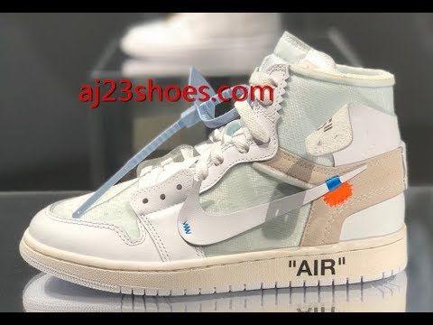 c4ba3f3e9ada51 Nike Air Jordan 1 Off White White First Review