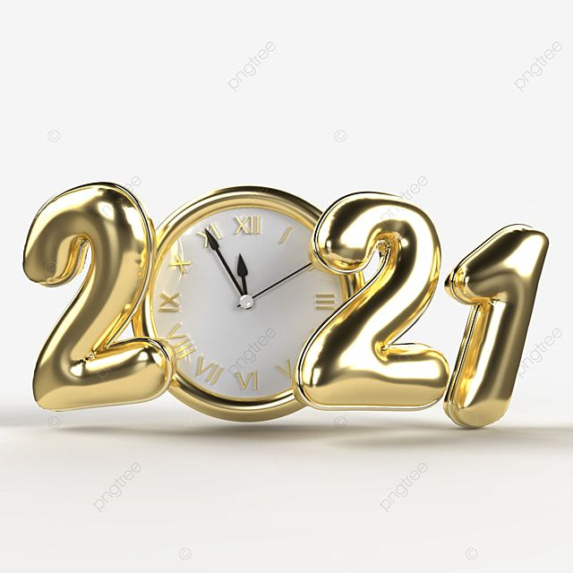 Happy New Year 2021 Realistic Gold Numbers With Hours Celebration Lights Chandeliers Png Transparent Clipart Image And Psd File For Free Download Happy New Year Text Newyear Happy New Year