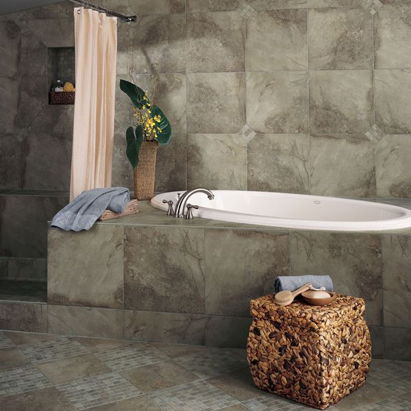 18x18 Tile In Small Bathroom: 1000+ Images About Bathrooms / Showers On Pinterest
