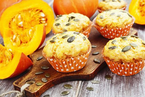 ¡¡Muffins de calabaza!!     #MuffinsDeCalabaza #MagdalenasDeCalabaza #RecetasConCalabaza #RecetasDeMuffins #RecetasDePostres
