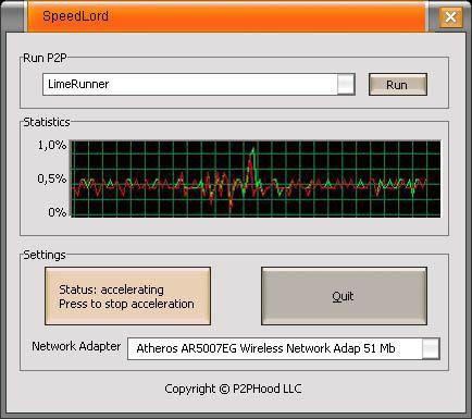 SpeedLord – Universal P2P Accelerator!