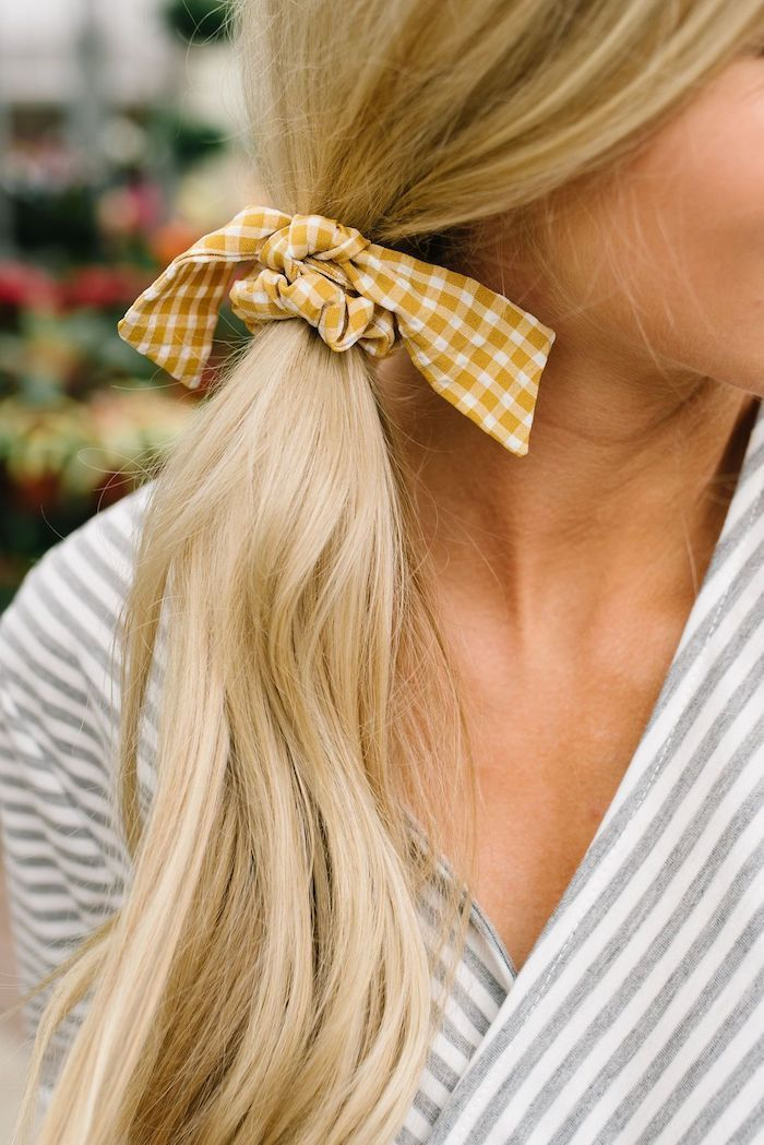 ▷ 1001 + Bandana tie ideas and hairstyles for the summer – #Bandana #bond #den #Hairstyles # for