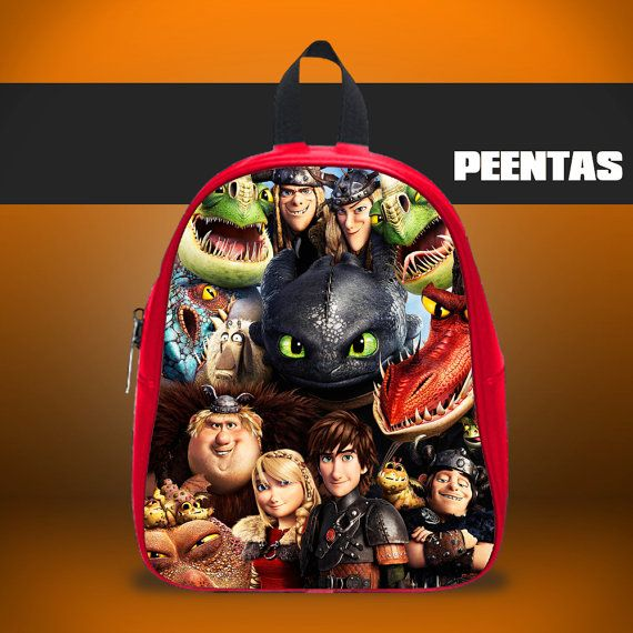 How to Train Your Dragon -  Design variations School Bag