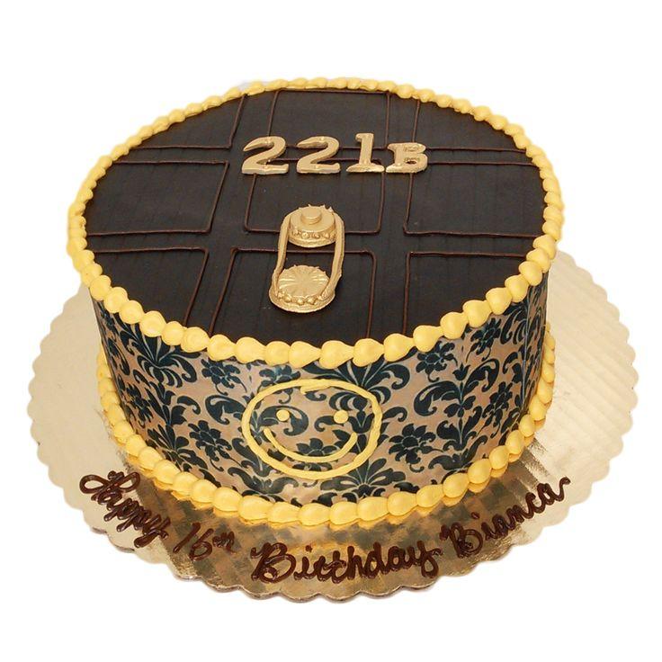 Coccadotts Sherlock Cake