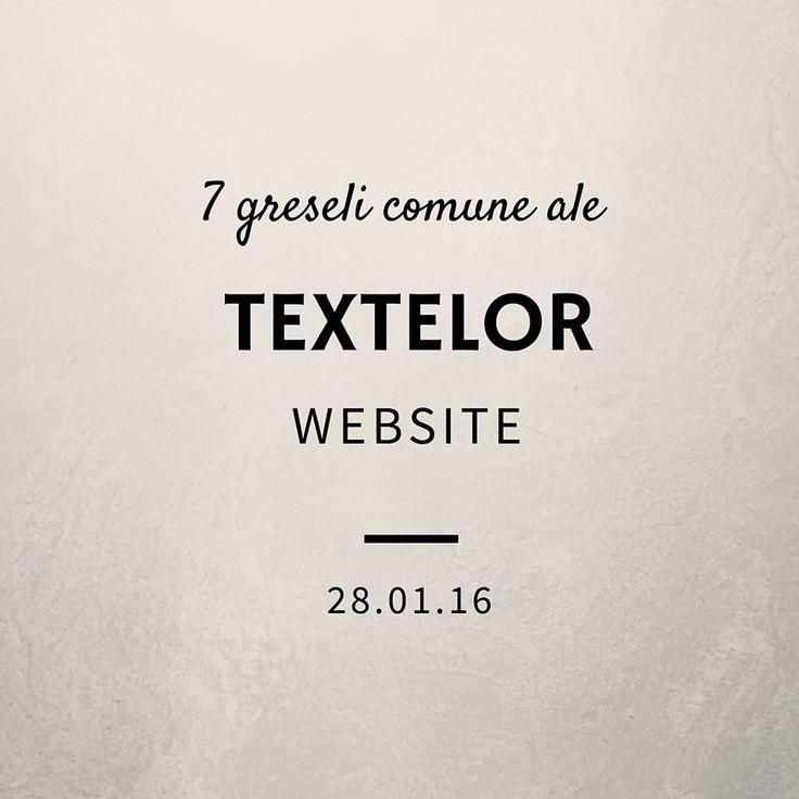 7 greseli comune ale textelor din website-uri