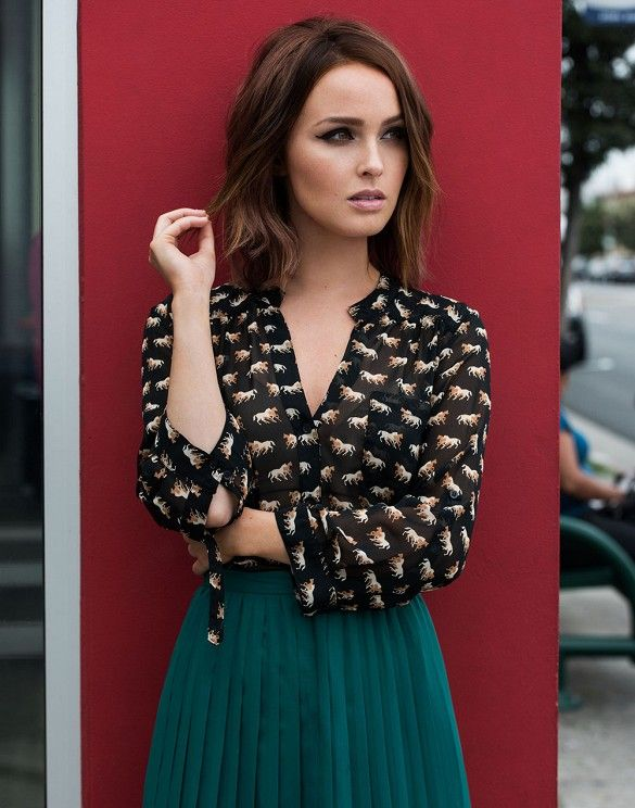 Actress to Know: 'Grey's Anatomy' Star Camilla Luddington via @WhoWhatWear