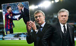 David Moyes: 'Beating Barcelona sent a message of what I can do' #DailyMail