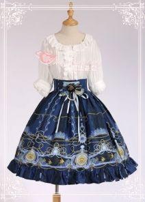 Angel Fish Embroidery Magic Tea Party Lolita SK