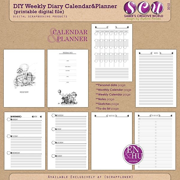 Best Schedule Images On   Calendar Organizers And