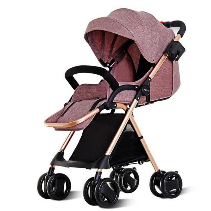 Kids-Pram-Travel-System-3-In-1-Combi-Stroller-Buggy-Baby-Fold-Infant-Pushchair