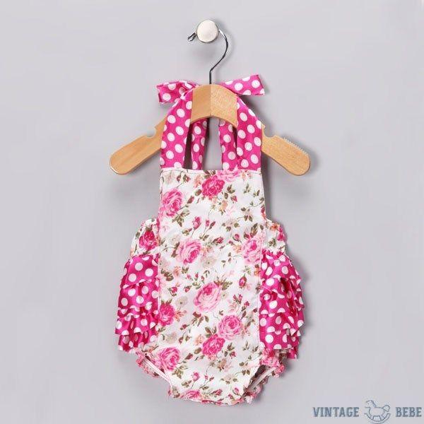 Floral Baby Romper