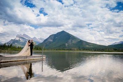 Traditional Romantic Wedding at the Fairmont Banff Springs | Banff Wedding…