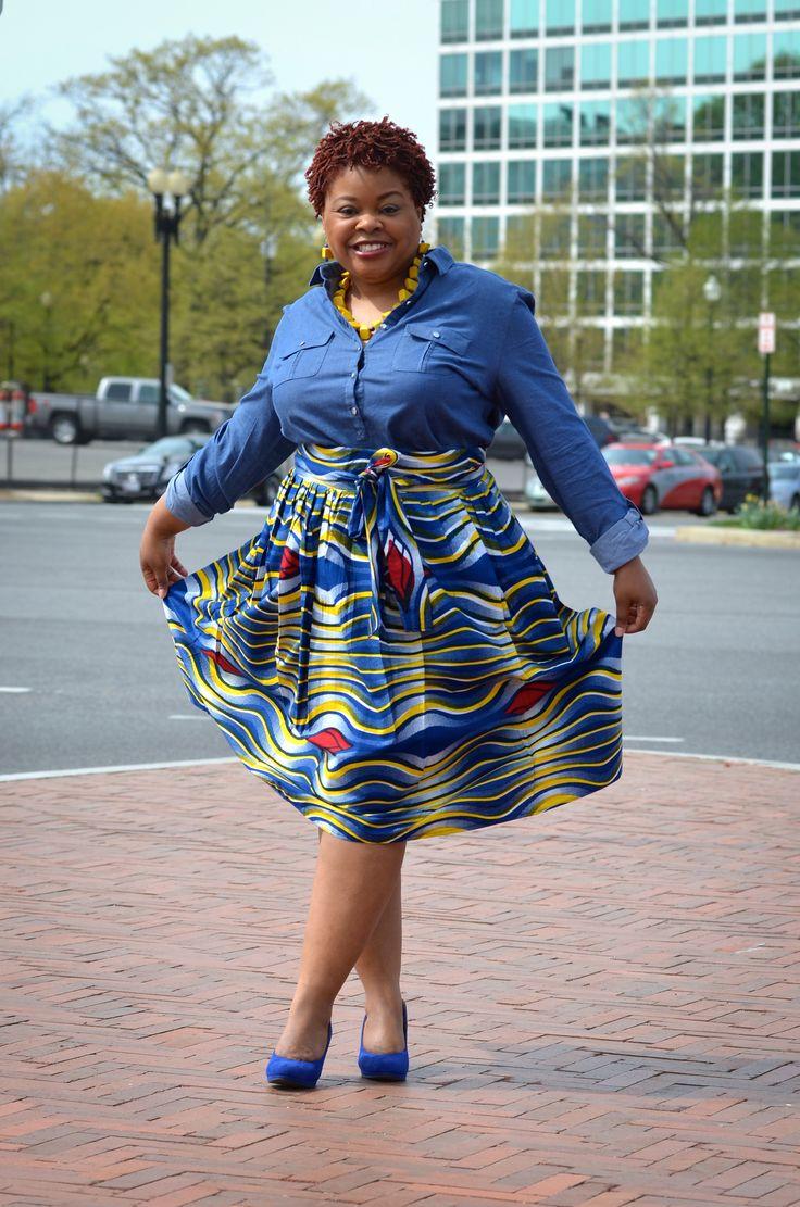 I made the skirt.