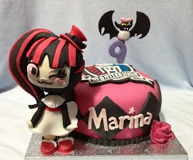 Marinadas Yoli: Tarta Monster High