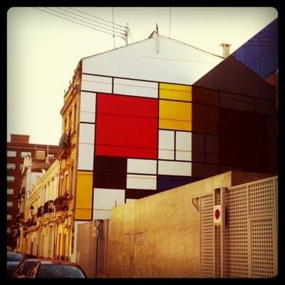 Medianera Mondrian - Fatidica*gala! deco-miscelanea