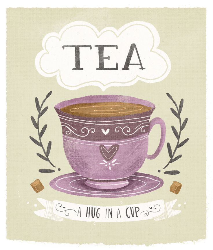 Tea - a hug in a cup