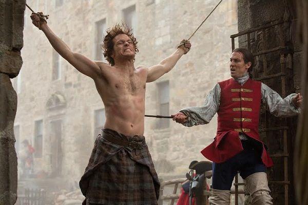 Starz's  Outlander  trailer: Claire Randall's fallen through time