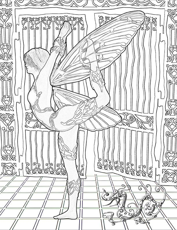 Coloring Books For Adults With Anxiety 436 Best Adult Colouring FairiesAngels