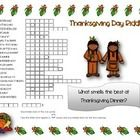 Practise Thanksgiving day vocabulary with this Thanksgiving Day Word Scramble and Hidden Riddle  Answer key included...