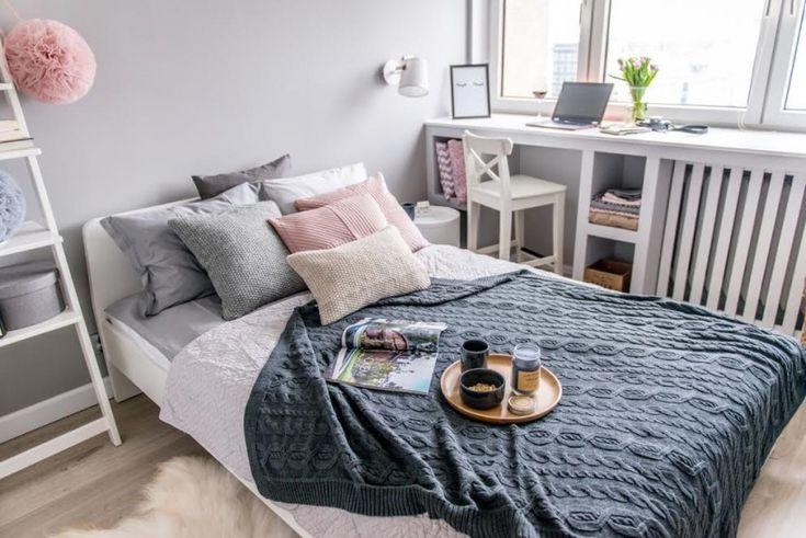 Romantyczna aranżacja sypialni w pastelowej palecie barw - Lovingit.pl