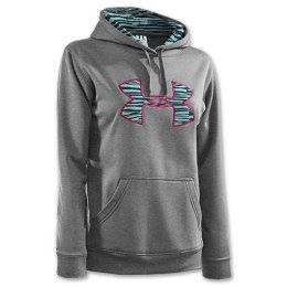 Under Armour Women's Hoodie..LOVE this print in the logo