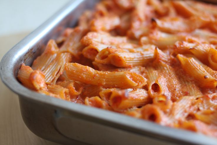 ... well jovial s brown rice penne bake in this satisfying pasta casserole