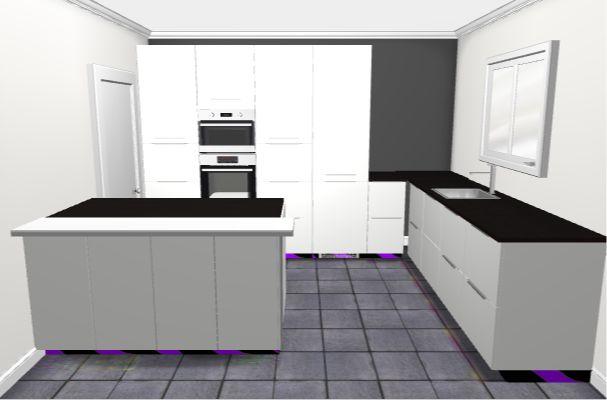 cuisine ikea rasdal avec des id es int ressantes pour la conception de la chambre. Black Bedroom Furniture Sets. Home Design Ideas