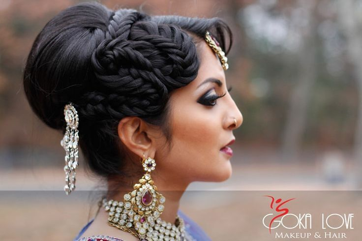 pakistani bridal hairstyles for reception google search