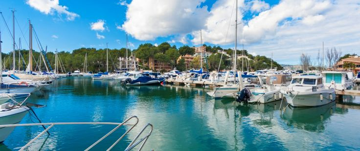 The beautiful harbour, Santa Ponsa, Mallorca