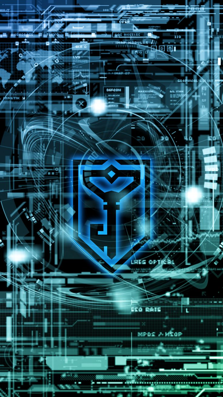 iOS wallpaper for Ingress Resistance