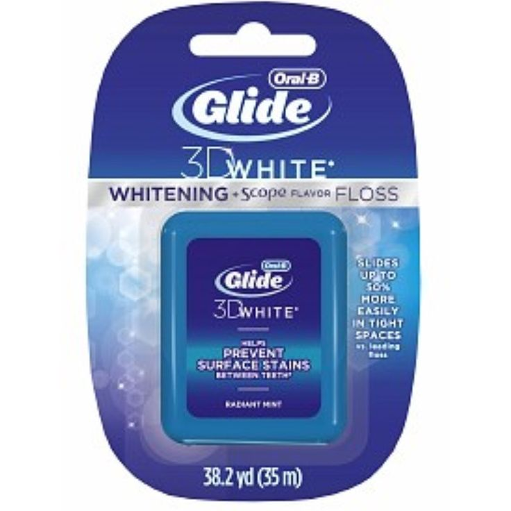Glide Floss Whitening Plus Scope Flavor 38.30 Yards