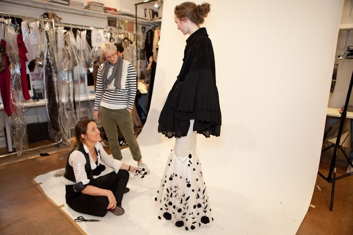 Alice fitting models for the AW11 show
