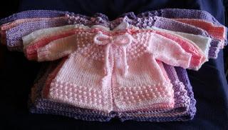 Wishing I was Knitting at the Lake: Baby Jiffy Knit Sweater