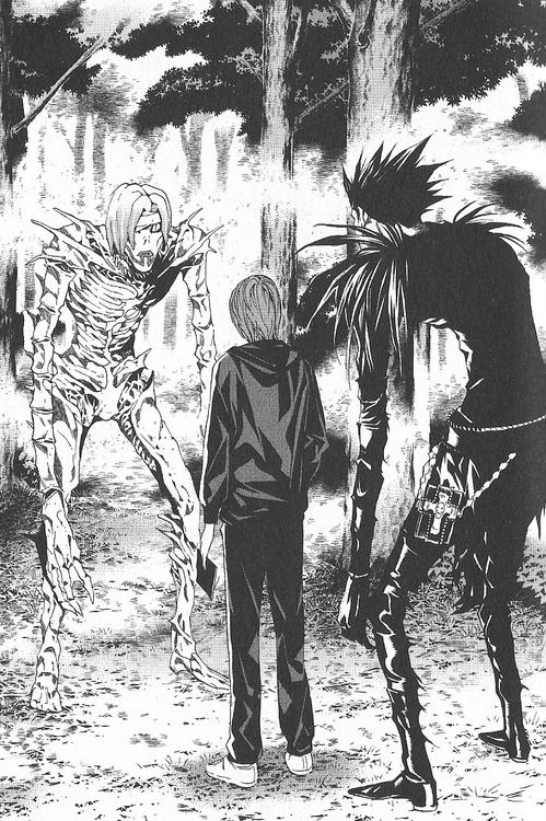 Death Note  (It was nice to finally know what the heck Light did here.)