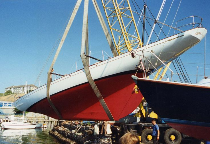 121 besten fife yacht bilder auf pinterest klassisches segeln segelschiffe und partyboote. Black Bedroom Furniture Sets. Home Design Ideas