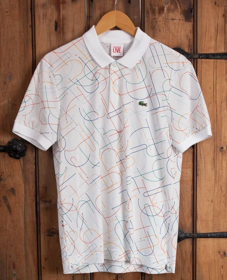 Lacoste Live - All Over Print Polo - Multi Pattern