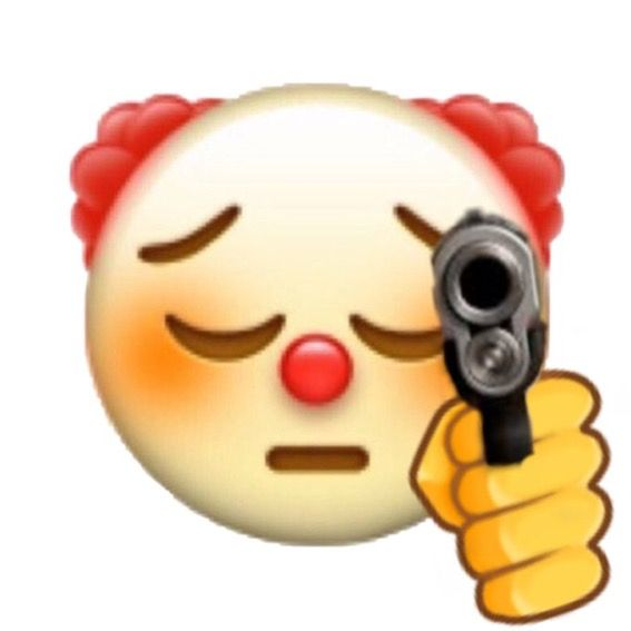 Pin By Alex Garcia On Pa Stickers In 2020 Emoji Emoji Meme Clown