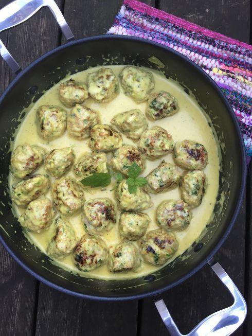 Kycklingbullar i currysås | en smaksak | Bloglovin'
