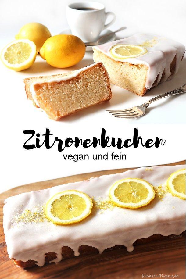ZITRONENKUCHEN vegan - Hier ein Update - gleiches veganes Kuchenrezept aber neue Fotos von meinem Kindheitslieblingskuchen