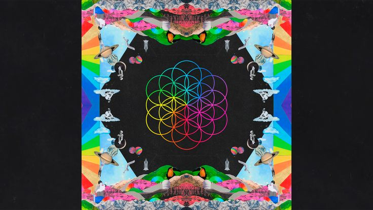 Made a wallpaper for every Coldplay album from Parachutes to A Head Full of Dreams (all 1920x1080)