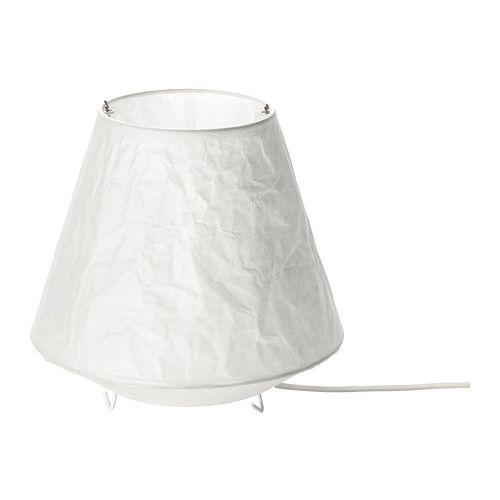 IKEA - LÅTER, Bordslampa, Lampan ger ett mjukt ljus och skapar en varm, mysig atmosfär i ditt rum.