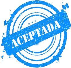 I lost myself in Wonderland...: ¡Aceptada!