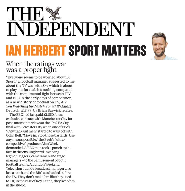 The Independent - Sport