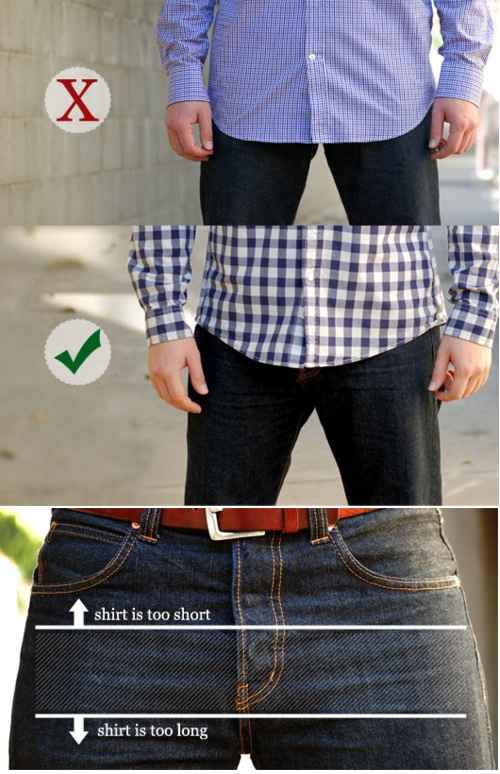 Fyi Guys How Long An Untucked Shirt Should And Shouldn 39 T