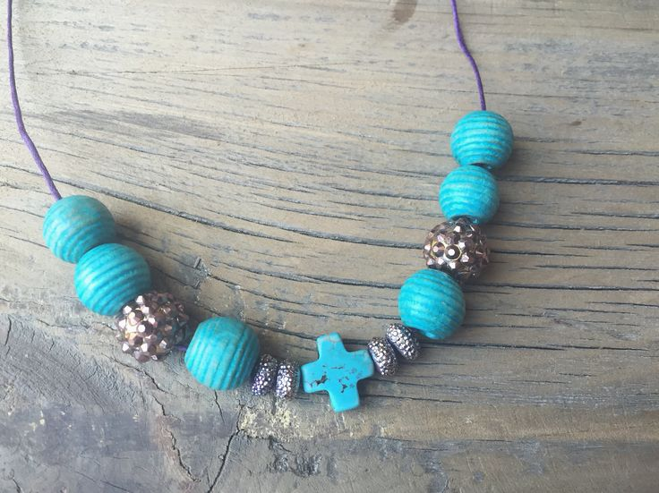 Toddler necklace (HopeEffectBeads) by Smitten By Shiloh on etsy and Instagram