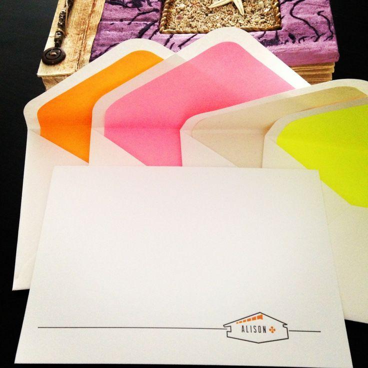 #letterpress #notecards #stationery #papergoods