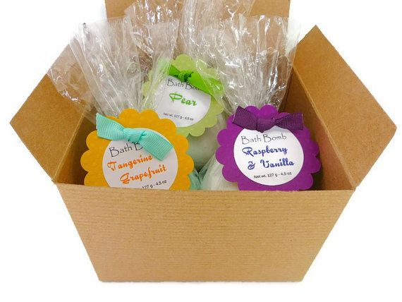 Bath bomb gift set  bath gift sets  gifts for by AromaScentsLLC